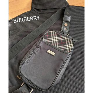 BURBERRY BLACK LABEL - バーバリーブラックレーベル ショルダーボディーバッグ