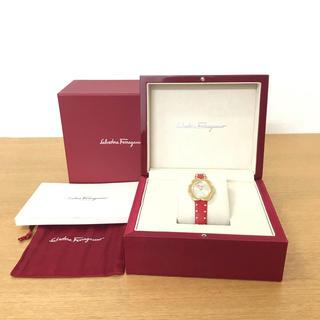 Ferragamo - 美品 フェラガモ フィオーレ 腕時計 レディース ☆セリーヌ カルティエ