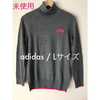 adidas - adidas (アディダス) ゴルフ ウェア  タートルネックセーター / L