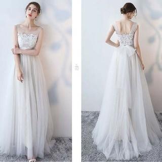 ホワイト ウェディングドレス