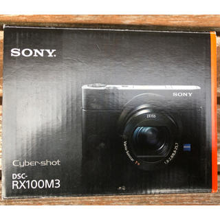 SONY - SONY サイバーショット DSC-RX100M3