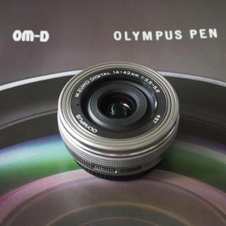 OLYMPUS - 極美品 オリンパス M.ZUIKO 14-42mm f3.5-5.6 EZ