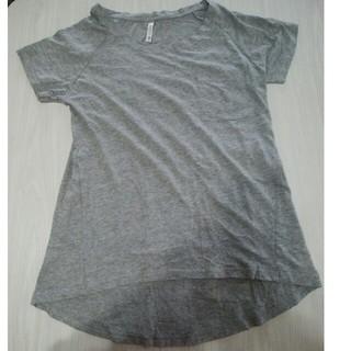 無地グレー半袖(Tシャツ(半袖/袖なし))