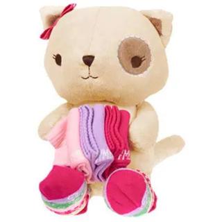 ジンボリー(GYMBOREE)の新品ジンボリーぬいぐるみと赤ちゃんの靴下セット 出産祝いなど(その他)