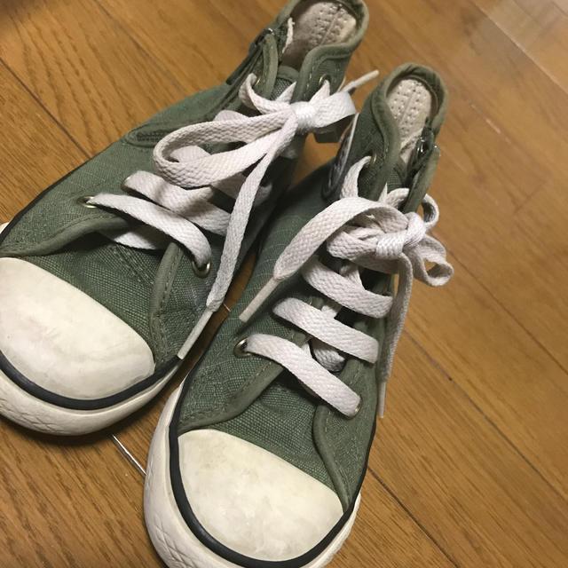 CONVERSE(コンバース)のコンバース17せんち キッズ/ベビー/マタニティのキッズ靴/シューズ(15cm~)(スニーカー)の商品写真