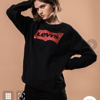 Levi's - 新品バットウィングロゴスウェットシャツ ブラックLevis