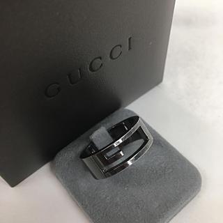 グッチ(Gucci)のGUCCI グッチ シルバー リング 指輪 (正規箱付き)送料込み(リング(指輪))