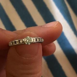 アイスブルーダイヤ  pt900  ダイヤ リング(リング(指輪))