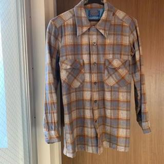 ペンドルトン(PENDLETON)の美品 チェックシャツ ウールシャツ ボードシャツ ペンドルトン 最終値下げ(シャツ)