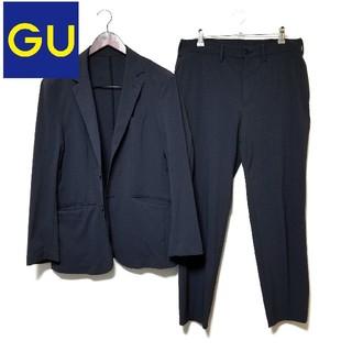 ジーユー(GU)のGU セットアップ  ネイビー(セットアップ)