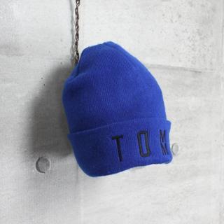 トミー(TOMMY)のUSA 古着 TOMMY トミー USA製 刺繍ロゴ ニットキャップ ビーニー(ニット帽/ビーニー)