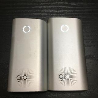 glo - 6番 glo 純正 本体 2本 銀 シルバー