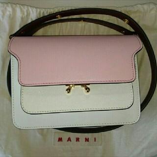 マルニ(Marni)の新品未使用 MARNI トランク ミニ トリコロール(ショルダーバッグ)