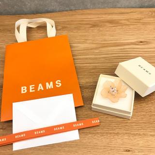 ビームス(BEAMS)のsale BEAMS 新品未使用 フラワーリング(リング(指輪))