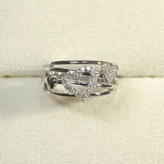 K18WG ダイヤ 指輪(リング(指輪))