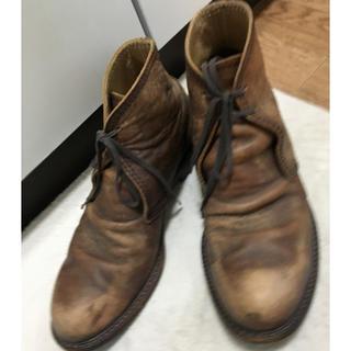 コムデギャルソン(COMME des GARCONS)のコムデギャルソン  チャッカブーツ☆27cm(ブーツ)