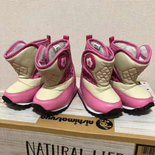 ニシマツヤ(西松屋)の防寒ブーツ 二足セット(ブーツ)