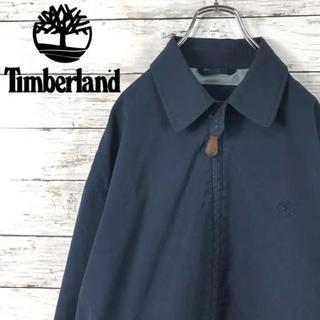 Timberland - 古着 Timberland ティンバーランド アウター ブルゾン ロゴ