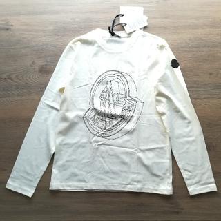 モンクレール(MONCLER)のボーイズ14A クリーム 長袖Tシャツ モンクレールキッズ(Tシャツ(長袖/七分))