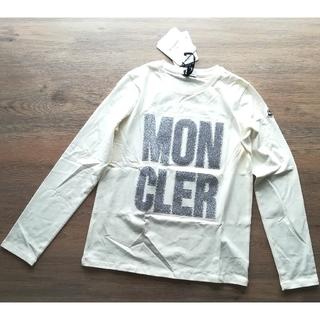 モンクレール(MONCLER)のガールズ14A クリーム 長袖Tシャツ モンクレールキッズ(Tシャツ(長袖/七分))