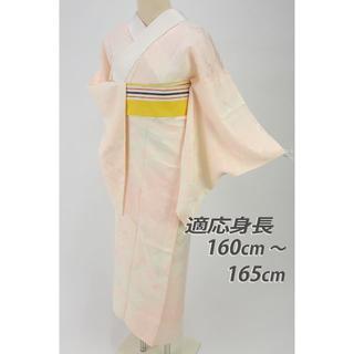 《上質襦袢■破れ七宝繋ぎ地模様■濃淡ピンク■着物下着♪正絹着物◆J10-2》(着物)