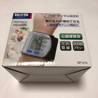 タニタ(TANITA)のデジタル血圧計 手首式 TANITA(その他)