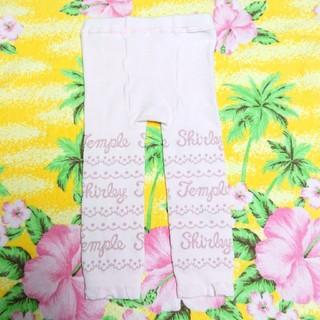 Shirley Temple - シャーリーテンプル♥ロゴレギンス♥ピンク♥M(80-90cm)