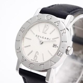 BVLGARI - 【BVLGARI】ブルガリブルガリ腕時計 '新型モデル' ☆ギョーシェ文字盤☆