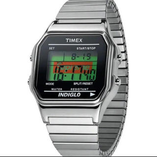 supreme  supreme timex silver タイメックス