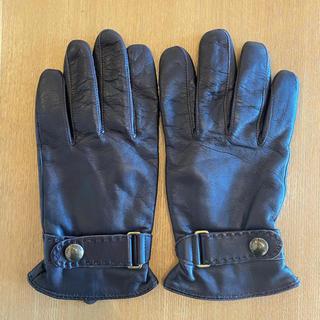 ポロラルフローレン(POLO RALPH LAUREN)のポロラルフローレン 革手袋 ブラウン(手袋)