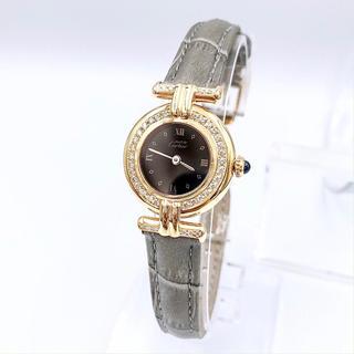 Cartier - 【仕上済/ベルト二色付】カルティエ コリゼ ゴールド ダイヤ レディース 腕時計