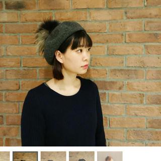 CA4LA - カシラCA4LAベレー帽 美品