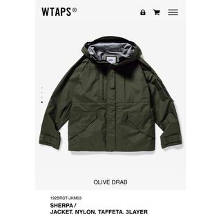 W)taps - WTAPS 19AW SHERPA OD L 新品未使用