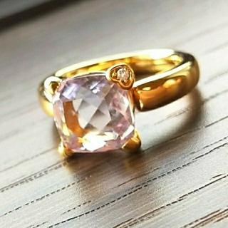 ポンテヴェキオ(PonteVecchio)のお値下 ポンテヴェキオ アメジスト ダイヤモンド K18ピンクゴールド リング (リング(指輪))