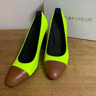 シーバイクロエ(SEE BY CHLOE)の【See by Cloe】イエローパンプス(ハイヒール/パンプス)