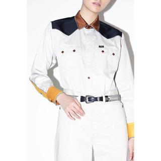 TOGA - TOGA×Lee ウエスタンシャツ&ワイドパンツ