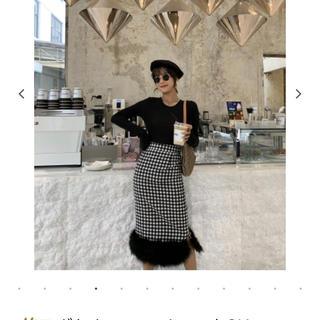 ZARA - birthdaybashバースデーバッシュ ギンガムチェックタイトスカート