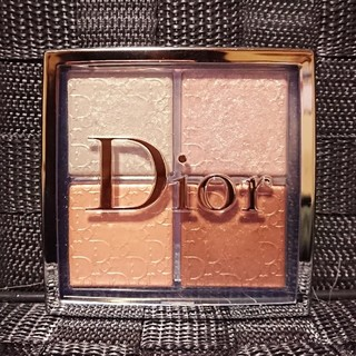 Christian Dior - ディオール バックステージフェイスグロウパレット 002 グリッツ ハイライト