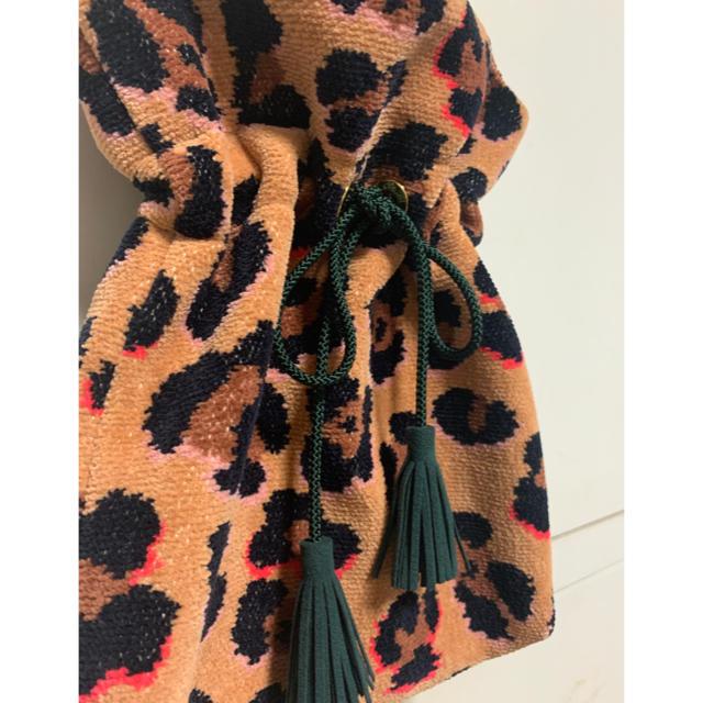 FEILER(フェイラー)のFEILER フェイラー 新品未使用 ラブラリー レオパード バッグ 巾着 レディースのバッグ(ハンドバッグ)の商品写真