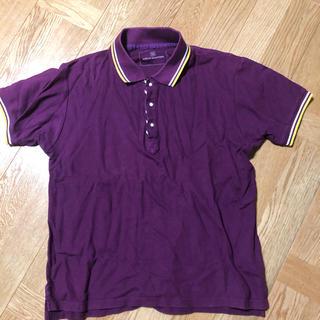 ユニフォームエクスペリメント(uniform experiment)のポロシャツ uniform experiment パープル紫 UE(ポロシャツ)