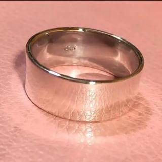 平打ち シルバー925 リング  21号 シンプル飽きが来ないデザイン 銀 指輪(リング(指輪))