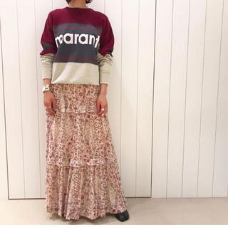 イザベルマラン(Isabel Marant)のイザベルマランエトワール フローラルスカート 新品未使用(ロングスカート)