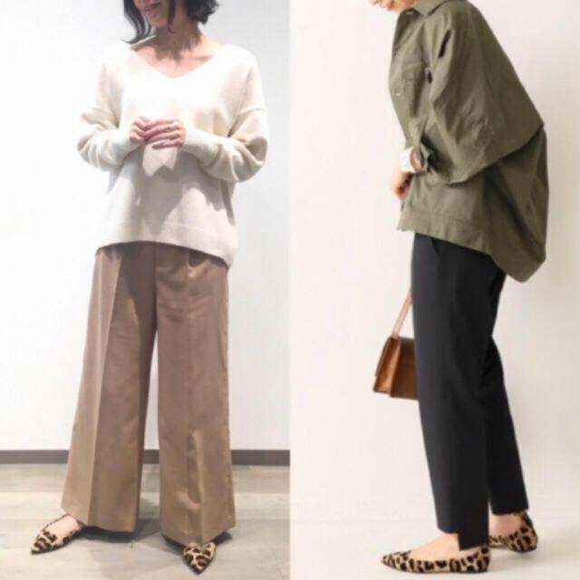 DEUXIEME CLASSE(ドゥーズィエムクラス)の新品 CAL FIORENTINI ポインテッドストラップパンプス レオパード レディースの靴/シューズ(バレエシューズ)の商品写真