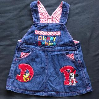 Disney - ディズニー デニム ジャンパースカート 90cm