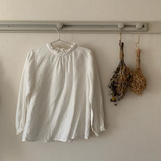nest Robe - nestrobe  リネンスタンドフリルブラウス