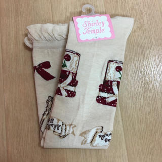 シャーリーテンプル(Shirley Temple)のシャーリーテンプル☆ジャム瓶ニーハイソックス☆13-15(靴下/タイツ)