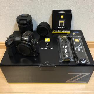 Nikon - ☆新同☆保証☆ Z6 24-70 FTZ 64GB XQD セット フルサイズ