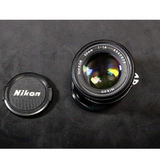 Nikon - ai-s nikkor 50mm f1.4
