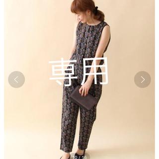 コーエン(coen)のcoen 【NOMA textile designコラボ】オールインワン花柄(オールインワン)