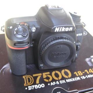 Nikon - Nikon D7500 ボディ 美品 おまけ付